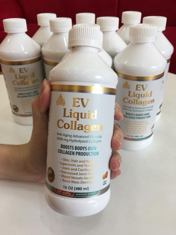Ev Liquid Collagen - Nước uống collagen 480ml